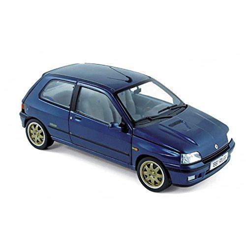 Norev NV185230Scala 1: 18' Renault Clio Williams 1993Blu Auto Modello pressofuso