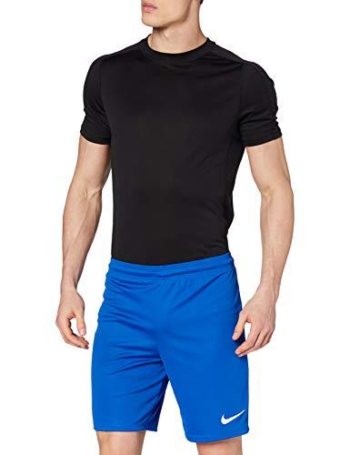 Nike Park II Knit Nb, Pantaloncino Uomo, Blu Royal/Bianco, M