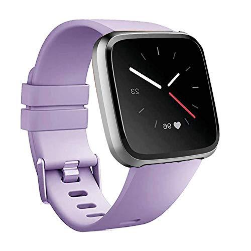 MAKACTUA Compatible con Fitbit Versa Correa/Fitbit Versa 2 Correa/Fitbit Versa Lite Correa Mujer Hombre,Pulsera Ajustable Correa de Reemplazo Deportivo