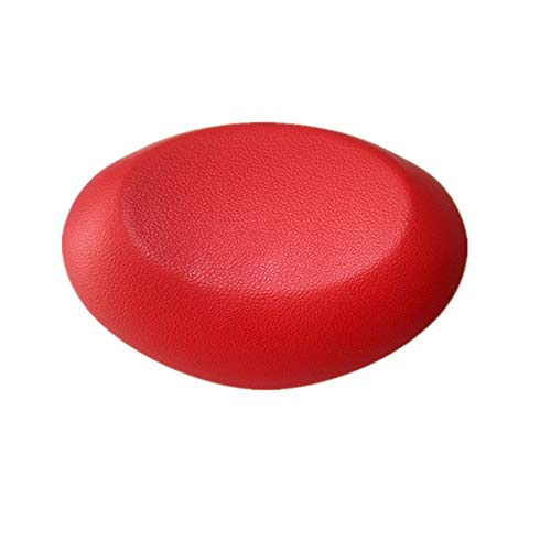 Bath IBHT Bain oreiller Anti Bacterial Coussin-2 forte Antiderapant Ventouse - Support for la tête, le cou - Fits bain Tubs, Hot Tubs, Jacuzzi et Home Spa 1 (Color : Red, Size : 26 x 18cm)