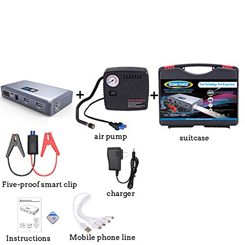 Great Deal! LiYan Car Quick Starter, 28000mAh Portable Car Jump Starter (Up to 5.0L Gasoline Engine)...