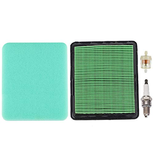 GCV160 Air Filter Tune Up Kit Fuel Filter for Honda GCV135 GCV190 GC135 GC160 GC190 GX100 GCV160A GCV160LA GCV190A GCV190LA Engine F220 FG400 FG500 Tiller WN20 WN30 Water Pump 17211-zl8-023