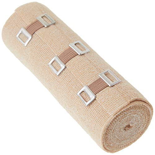 WellWear Elastic Bandage with Clips, 6 Inch, 2 Count