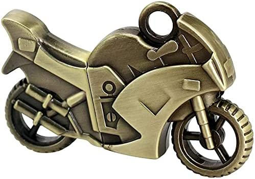 WooTeck 32GB Strong Metal Motorcycle USB Flash Drive Memory Stick Pendrive