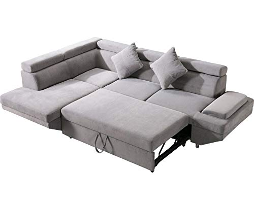 Sleeper Sofa Bed Futon Sofa Bed Sectional SofaSofas for Living Room Furniture Set Modern Sofa Set Corner Sofa Upholstered Contemporary Fabric