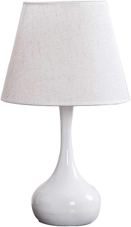 Nachttischlampener Yhz@ Moderne minimalistische Mode Hochzeit Hochzeit Tischlampe, Fernbedienung Dimmen Schutz Auge, warme kreative Energiesparlampe Lampe LED