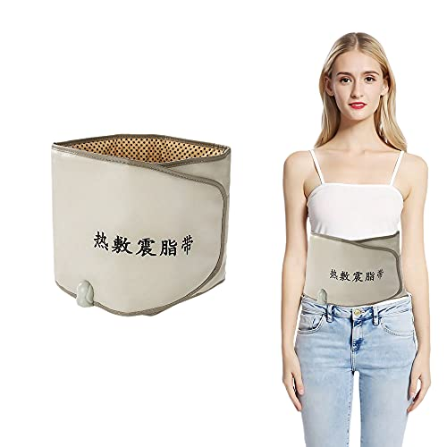 Electric Waist Trimmer Belt, Hot Compress Vibrating Heat Slimming Device