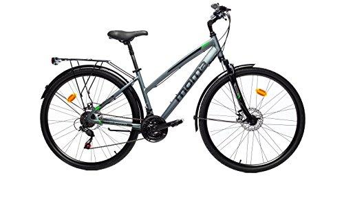 Moma Bikes Pro Trekkingräder, Grau, One Size