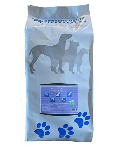 Beckers Beste - Trockenfutter Hund Angus-Rind mit Süßkartoffel und Karotte 6kg - glutenfrei ohne Getreide - Junghund, Adult & Senior - Hundefutter große und kleine Hunde-Rassen