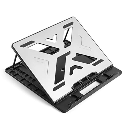Drawing Tablet Stand, Adjustable Graphics Tablet Stand Monitor Display Holder, Foldable Drawing Stand Compatible with Art Tablet Display(Up to 15.6 in), Drawing Monitor, Graphics Tablet, PC, Laptop