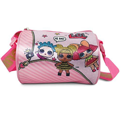 L.O.L. SURPRISE! Glitterati Glam Crossbody Bag/Purse for Girls