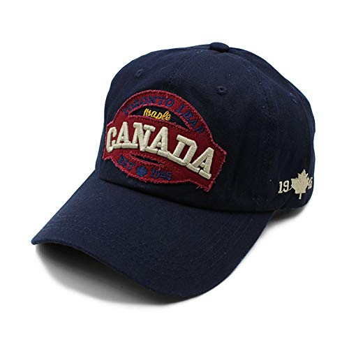 Baseball Kappe Hut Neuankömmling Baumwolle Frauen Männer Erwachsene Baseball Cap Kanada Verstellbare Herrenmode Snapback Hip Hop Hüte Hochwertige Kappen