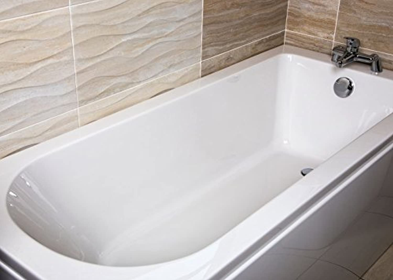 Advent Single Ended Bath White Acrylic (Super-Strong Acrylic)
