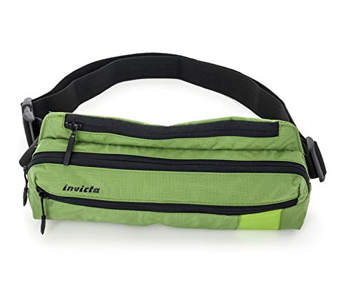 Marsupio Invicta, Big Waist Bag I Time, Verde, Outdoor & tempo libero