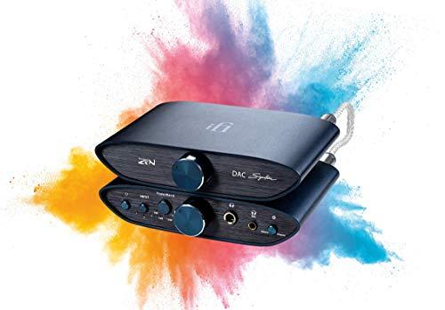 iFi ZEN Signature Bundle - DAC e amplificatore per cuffie da tavolo bilanciato e preamplificatore con uscite da 4,4 mm - Include un cavo da 4,4 mm a 4,4 mm