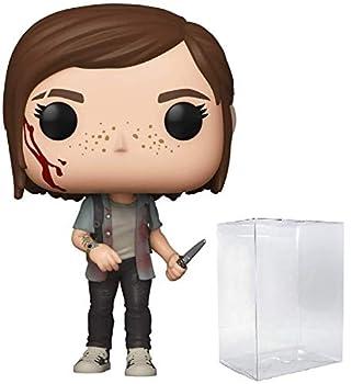 Funko Pop! Games  The Last of Us Part II - Ellie Vinyl Figure  Includes Compatible Pop Box Protector Case