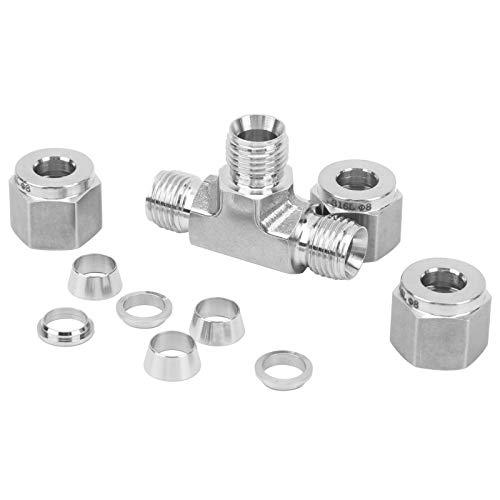 Conector de la virola de la compresión, resistencia igual de la vibración del acero inoxidable del extremo ≤450℃ del cordón del Pin