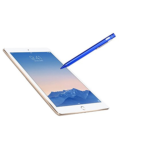 Price comparison product image Elaco for Apple iPad 2 3 4 Pro & Air,  Screen Touch Pen Stylus with USB Charging Wire (Blue,  for Apple iPad 2 3 4 Pro & Air)
