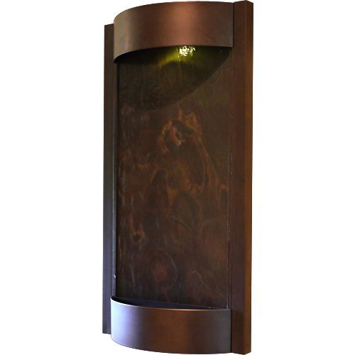 Contempo Falls Oil Rubbed Bronze and Slate Wall Fountains by Bluworld