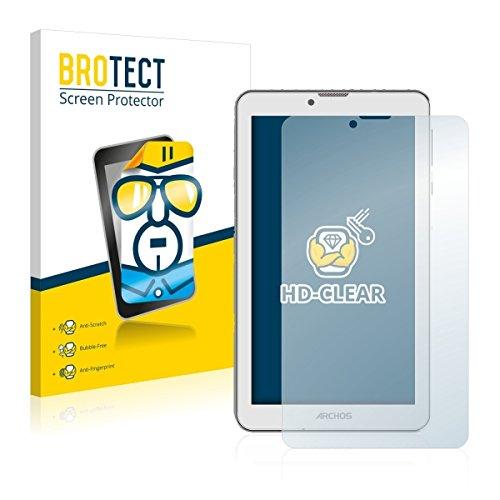 2X BROTECT HD Clear Bildschirmschutz Schutzfolie für Archos 70 Xenon Color (kristallklar, extrem Kratzfest, schmutzabweisend)