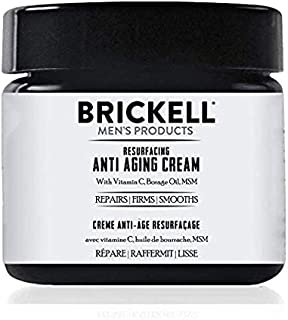 Brickell Men's Producten Resurfacing Anti-Aging Cream For Men - All Natural and Organic (ungeurend)