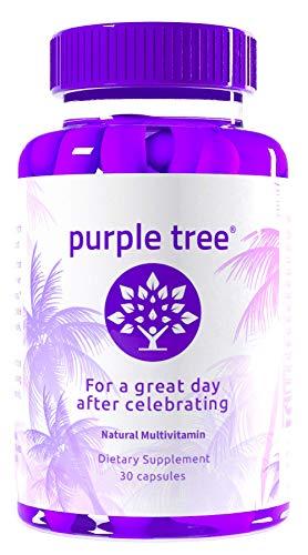 Purple Tree Celebration Vitamin Pills | Rapid Hydration, Liver Detox, Better Mornings |...