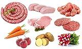 Colis de Viande Economique 3,6 Kg + Légumes de Saison 3/4 Kg - Origine France