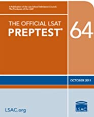 The Official LSAT PrepTest 64--October 2011 (Official LSAT PrepTests)
