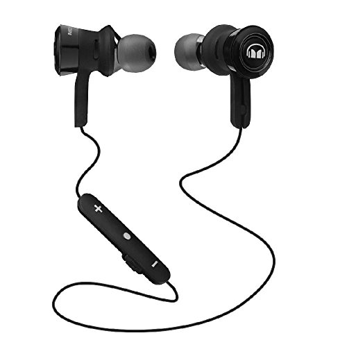 Monster Clarity HD Bügel Ear Kopfhörer Kabellos Bluetooth In-Ear-Kopfhörer, Schwarz