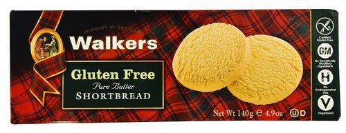 Walkers Gluten Free Pure Butter Shortbread Cookies -- 4.9 oz - 2 pc