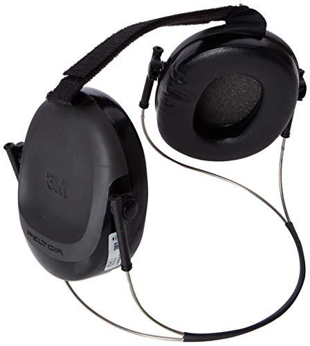 3M PELTOR Welding Earmuffs, 24 dB, Black, Neckband, H505B-596-SV