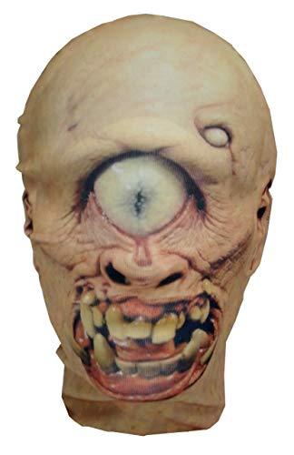 Máscara de cabeza completa de monstruo cíclope, polifemo, disfraz de Halloween, cosplay