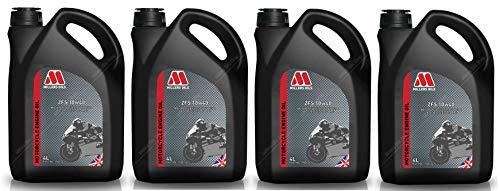 Millers Oils ZFS 4T 10W40 Aceite de Motor de Motocicleta Totalmente sintético, 16 litros