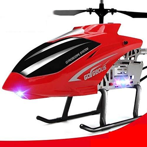 Zhangmeiren El Nuevo Avión De Control Remoto De Carga Irrompible Aleación De Aviones No Tripulados Helicóptero En Movimiento Juguetes De Niño For Los Niños ( Color : Red , Size : L )