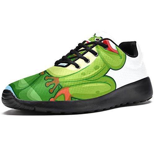 Zapatillas deportivas para correr para mujer, de malla transpirable, para caminar, senderismo, tenis, color, talla 38 EU