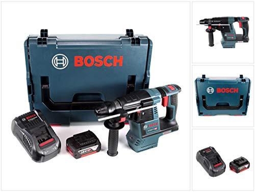 Bosch GBH 18V de 26Taladro Inalámbrico Professional SDS-plus en L-Boxx con 1x GBA 6Ah Batería Y Gal 1880CV Cargador