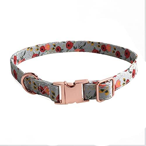 CHOUREN Collar de perro ajustable suave y cómodo para mascotas, collar de perro transpirable para entrenamiento y caminar