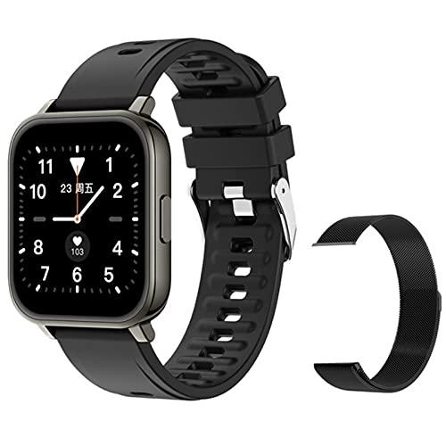YDK Nuevo Reloj Inteligente Hombres Y Mujeres Fitness Podómetro Tasa De Corazón Monitoreo De Sueño IP67 Deportes Impermeables Smartwatch Android iOS,B
