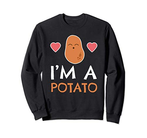 Pelle di patata Tater Tayto Sono una patata Felpa