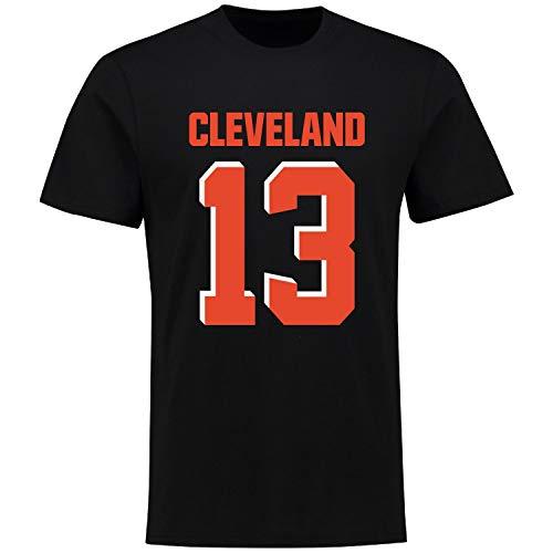 Fanatics NFL T-Shirt - Cleveland Browns Odell Beckham Jr. schwarz XL