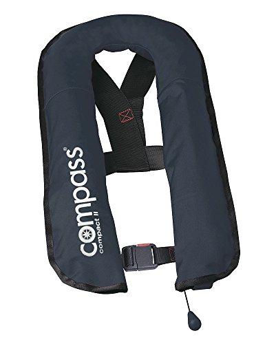 Rettungsweste Schwimmweste Compass Automatik 150 Newton 16L mit Bergeschlaufe