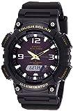 Casio Youth Analog-Digital Black Dial Men's Watch - AQ-S810W-1BVDF (AD173)