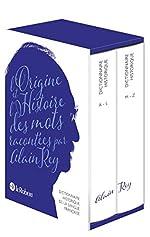 Dictionnaire Historique de langue française - Version numérotée d'Alain Rey