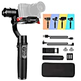 Hohem Digital Camera Gimbal Stabilizer Handheld Gimble for Sony RX100, for Canon PowerShot, for Panasonic Lumix, Action Cameras and Smartphones, Playload 400g, 3-in-1 Gimball (hohem iSteady Multi)
