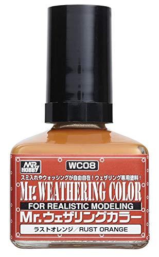 GSIクレオス Mr.ウェザリングカラー ラストオレンジ 40ml 模型用塗料 WC08