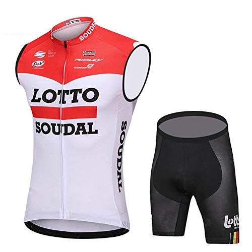 YLL Maillot Ciclismo Hombre Ropa Bici Sin Mangas Camiseta Chaqueta Transpirable Y...