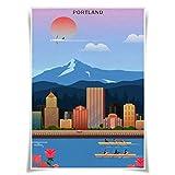 Nice Captain Travel Poster Berühmte Tourist Sites
