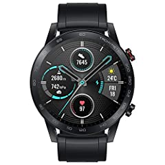 【1.39 inch AMOLED Display and 14-Day Long Battery Life】 HONOR Magic Watch 2 fitness watch with 1.39-inch AMOLED display, 454 x 454 resolution at 326 PPI, highly accurate touch response, faster to give a huge for your fitness. Combined with HUAWEI's s...