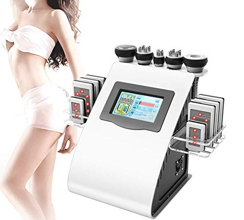 Body Massage Minceur Machine, 5 en 1 à ultrasons 40K brûleur de graisse RF Multipolaire perte de poids à vide Instrument Anti-rides beauté équipement