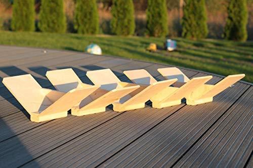 AGROHIT Sitzbrettchen, Taubensitz, Dreiecksitze 15 Pack Holz 15 Stück